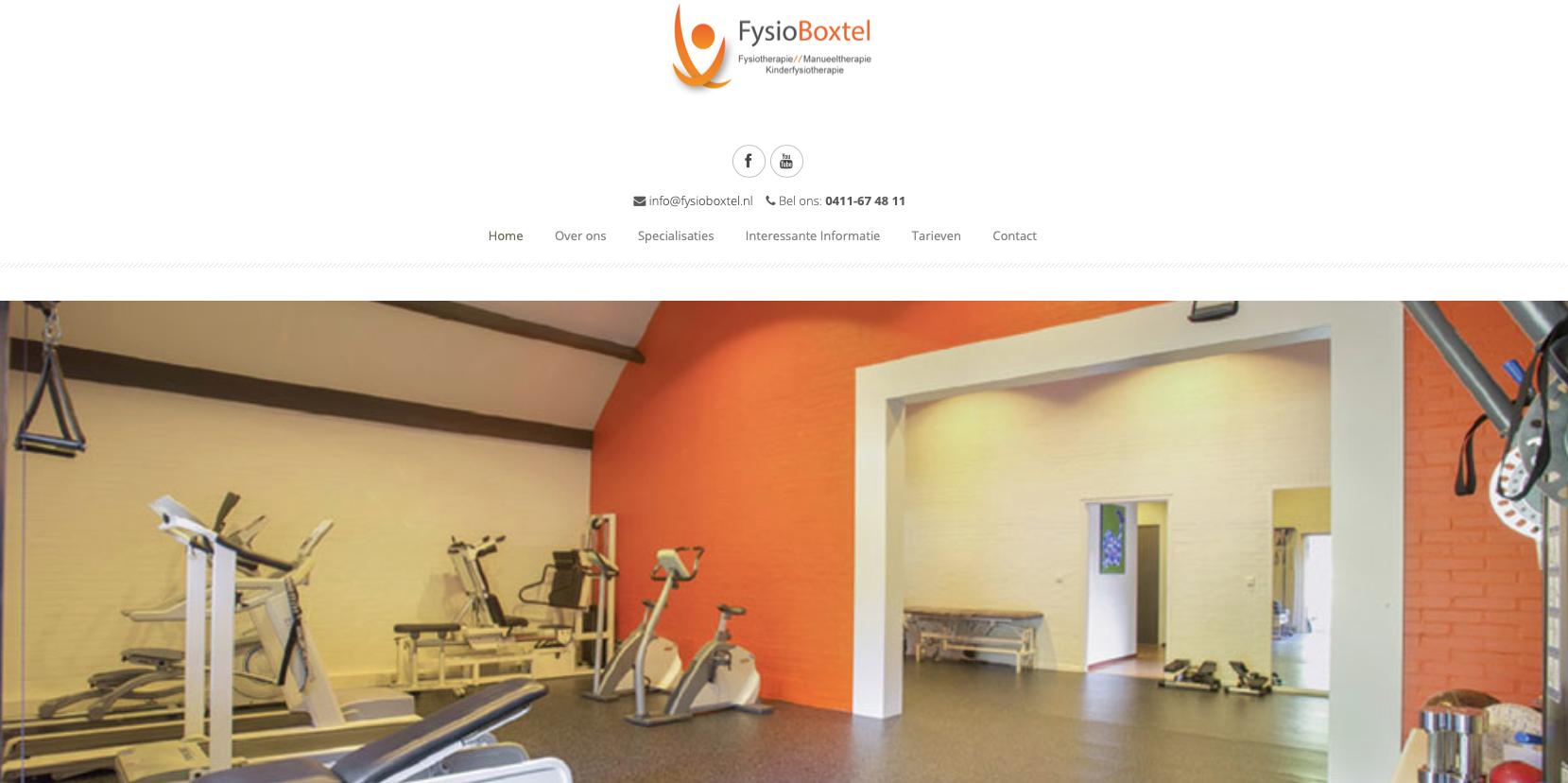 Website FysioBoxtel